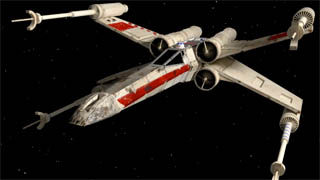 Come modellare un X-Wing di Star Wars in 3D