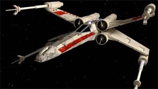 Come modellare un X-Wing di Star Wars in 3D