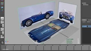 Modellazione di automobile in MAYA