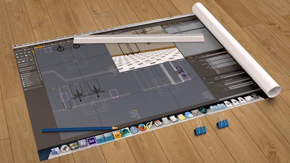 MODO 801 per architettura e rendering fotorealistico