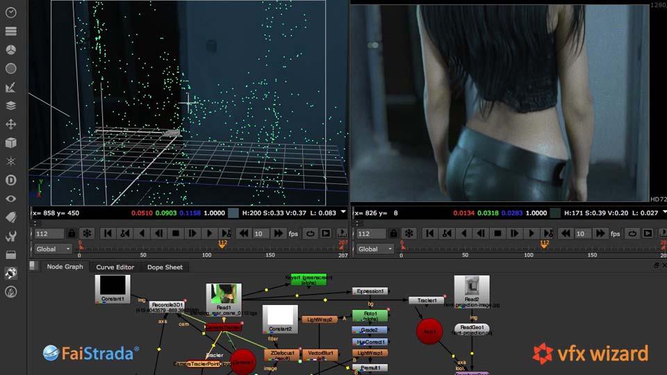 Come usare NUKE per il camera tracking 3D