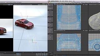 Forme complesse richiedono una modellazione accurata basata su reference e curve