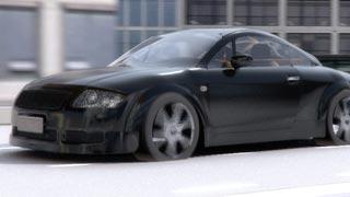 Costruire e animare un'automobile 3D