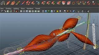Come usare i Maya Muscles per simulazioni realistiche